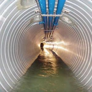 未利用エネルギー活用システムエスロヒート下水熱(らせん型)