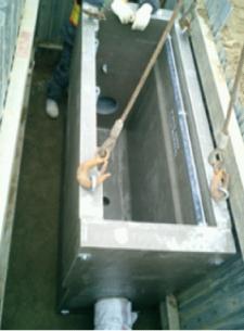 1管セパレートマスの設置
