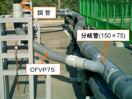 CFVP配管例写真